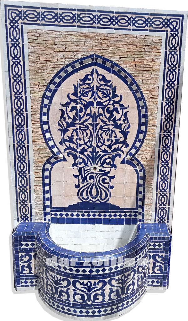 Floral Decoration Zellige mosaic