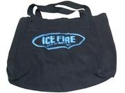 10304 - Ice Fire 黑色側咩帆布袋