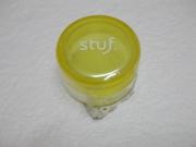 10249 - 全新 - Stuf 黃色美容護膚品盛器