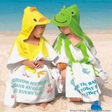 NISSEN可愛動物造型浴巾沙灘毛巾 3色 有實物圖色澤很好 (包郵)