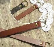 拼布手作輔料 手工常用 製作 包包 袋子 必備 圓環頭提帶 2色