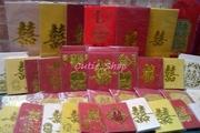 Cutieshop153結婚用品貼利是封~多款結婚利是封 $3起