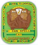 學習玩具 Monkey Speller -  小猴學英文 3y+ 4y+ 5y+ (原價$128, 清貨8折$102)