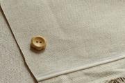 拼布手作布料 素色系列 日本帶網膜防散邊棉麻 布幅140CM