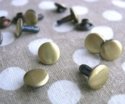 拼布手作鉚釘 撞釘 素銅 素銀 款