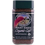 Mount Hagen, Organic-Cafe, Decaffeinated Freeze Dried Instant Coffee,100g有機認証即溶咖啡(不含咖啡因
