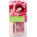 Moom, Hair Remover Kit with Rose, (Organic & 100% Natural) 6 oz 玫瑰脫毛凝膠套裝(有機及100%天然)