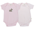 Frugi-Organic Cotton 有機純綿- Bunny Body 2 Pack