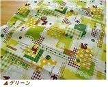 拼布手作片裝布料 日本進口棉布 小鹿燕子松鼠蕾絲百代麗 綠系
