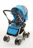 言B小店 - 2010款COMBI嬰兒手推車A型SK-3R(適合0-36個月), 包送貨(藍)
