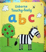 2466 亞馬遜五星好書 Usborne Touchy-Feely ABC [觸感紙板書] [課外書]