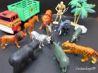 Cutieshop153 益智玩具積木~森林野生動物 1+ #08171
