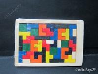 Cutieshop153 益智玩具積木~ 俄羅斯方塊(細)  #10163