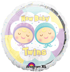 "18"" New Baby Twins [balloon]"