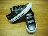 Sold = 20004 - Converse black Kid Sneaker = $80