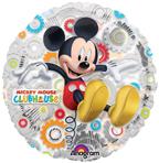 "18"" Mickey's Clubhouse Clearly Metallic [balloon]"