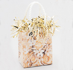 Gift Bag Weight - White Roses [balloon]