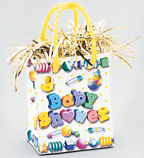 Gift Bag Weight - Baby Shower Gift Bag [balloon]