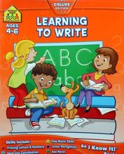 2835 School Zone練習 -- Learning to Write (Ages 4~6)  [課外書]