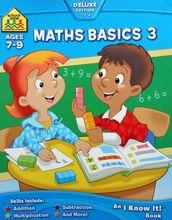 2831 School Zone練習 -- Maths Basics 3 (Ages 7~9) [課外書]