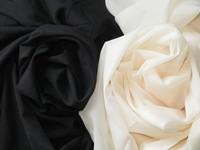 拼布手作輔料 日本進口  衣服用雪紡布襯 黑色  極方便低溫熨即OKAY