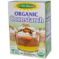 Edward & Sons, Organic Cornstarch, 6 oz 有機認証豆粉