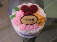 生日蛋糕 手工材料 DIY
