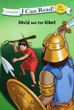 2979 I Can Read聖經故事系列: David and the Giant 大衛與巨人哥利亞 (My First Level)   [課外書]