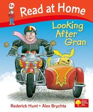 1127 Oxford Read at Home --4A Looking after Gran (大開本平裝) [課外書]