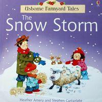 3035 Usborne Farmyard Tales -- The Snow Storm [有壓痕]  [課外書]