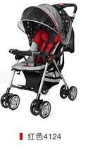 言B小店 - 2011新版COMBI嬰兒手推車輕便型SJ-8EX, 包送貨, 送頭枕 (紅)