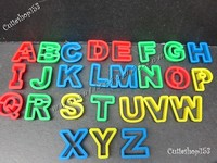 Cutieshop153 益智啟蒙玩具積木 ~學校教學 美術學生材料用具~泥膠/彩泥 ABC用具 #16612