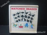 (拼圖盒)專業推介~益智啟蒙積木玩具(專注力 3+)~Matched images影子配對 #90821