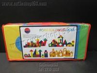 (粒粒積木) Cutieshop153 益智啟蒙積木玩具(創意空間,手眼協調,訓練小手肌) ~~EVA特小號泡沫積木(28件)  #6310