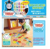 韓國 洗澡玩具EVA英文 ABC 字母貼 - Thomas(連收藏袋) 6m+ 1y+ 2y+ 3y+ 4y+ 涼/  BB 玩具
