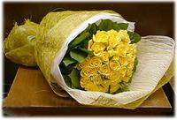 33枝黃色玫瑰#A1031