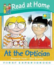 3054 亞馬遜五星好書 Oxford Read at Home -- At the Optician [Hardcover] [課外書]