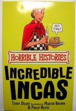 1307 亞馬遜五星好書 Scholastic出版社 Horrible Histories -- Incredible Incas [不再打折]  [課外書]