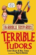 1305 亞馬遜五星好書 Scholastic出版社 Horrible Histories -- Terrible Tudors [不再打折]  [課外書]