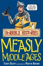 1306 亞馬遜五星好書 Scholastic出版社 Horrible Histories -- Measly Middle Ages [不再打折]  [課外書]