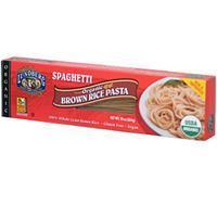 Lundberg, USDA Organic Brown Rice Pasta, Spaghetti, 10 oz (Gluten Free) 有機糙米意大利粉