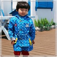 特價 男女童服裝 韓國進口 Robocar Poli 救援小英雄 波力 防水長風衣3041