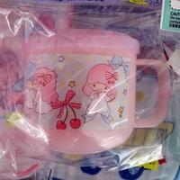 2018 開學用品 Sanrio Twinstar 卡通水杯 兒童水杯連蓋 膠杯 225ml BPA FREE 6357-18