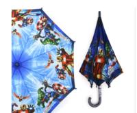 韓國 Marvel Avenger 復仇者聯盟 兒童 卡通 雨傘 雨具 直遮53cm_165167A