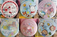 港版正品-SANRIO-大口仔-LITTLE-TWIN-STARS-HELLO-KITTY-PC狗-玉桂狗-MELODY-9.2cm膠杯蓋