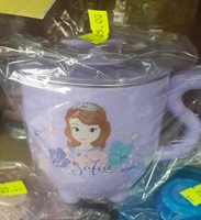 [預訂] 正品照價9折 Disney Sofia 蘇菲亞 不銹鋼有蓋單耳杯