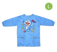 正版-Doraemon-丁噹兒童有袖圍裙-幼兒飯衣-L碼26062020