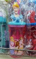 兒童用品-Disney-Princess-公主-立體造型飲管杯350ml-照價9折-港版正品-只限預購優惠