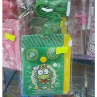 Sanrio-kerokerokeroppi-兒童-八達通套-掛頸-學生証件套-咭套-開學巡禮-港版正品-預購照價9折