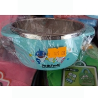 正韓國造-PINK-FONG-糸列-BABY-SHARK-DAD-SHARK-鯊魚家族幼兒-不銹鋼雙耳餐碗a